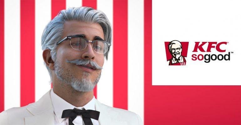 Молодой Полковник Сандерс новая Instagram-звезда KFC
