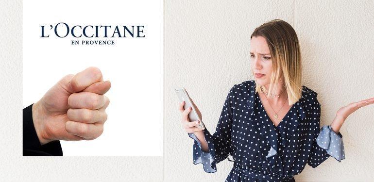 Невыполненные обещания L'occitane