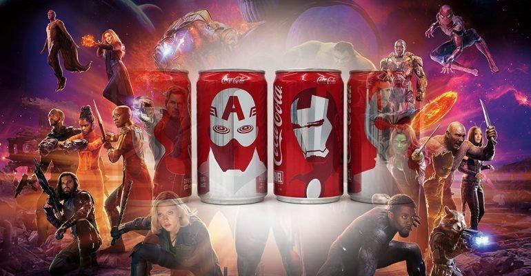 Coca-Cola в теме: подготовка к премьере Мстителей