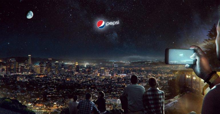 Рекламный билборд в небе: насколько высоко заберется PepsiCo