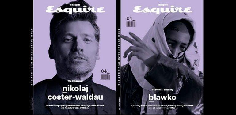 Апрельский номер Esquire: роботы добрались до журналистики