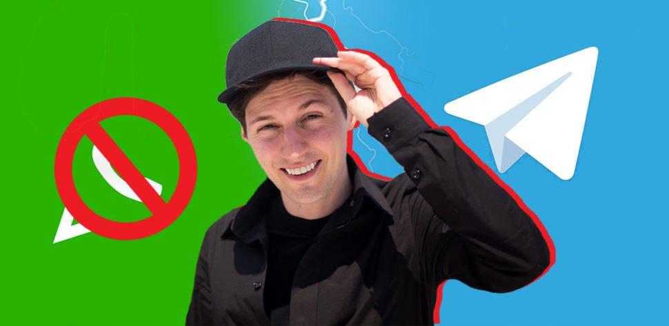 Павел Дуров советует удалить WhatsApp