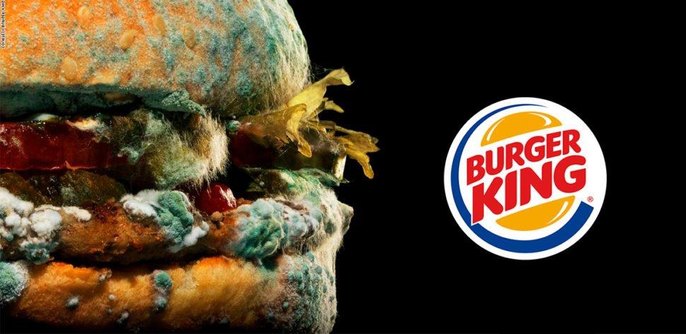 Заплесневелая реклама Burger King