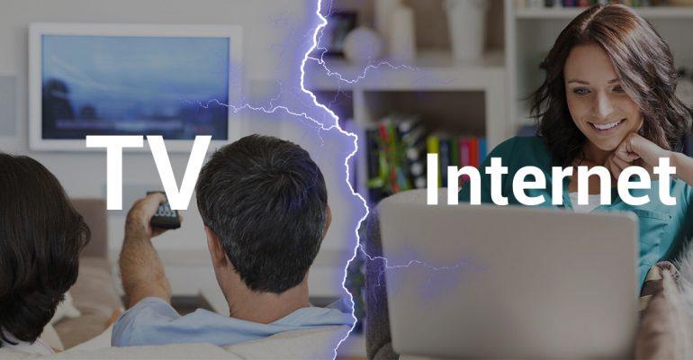 Война за просмотры: телевидение или интернет